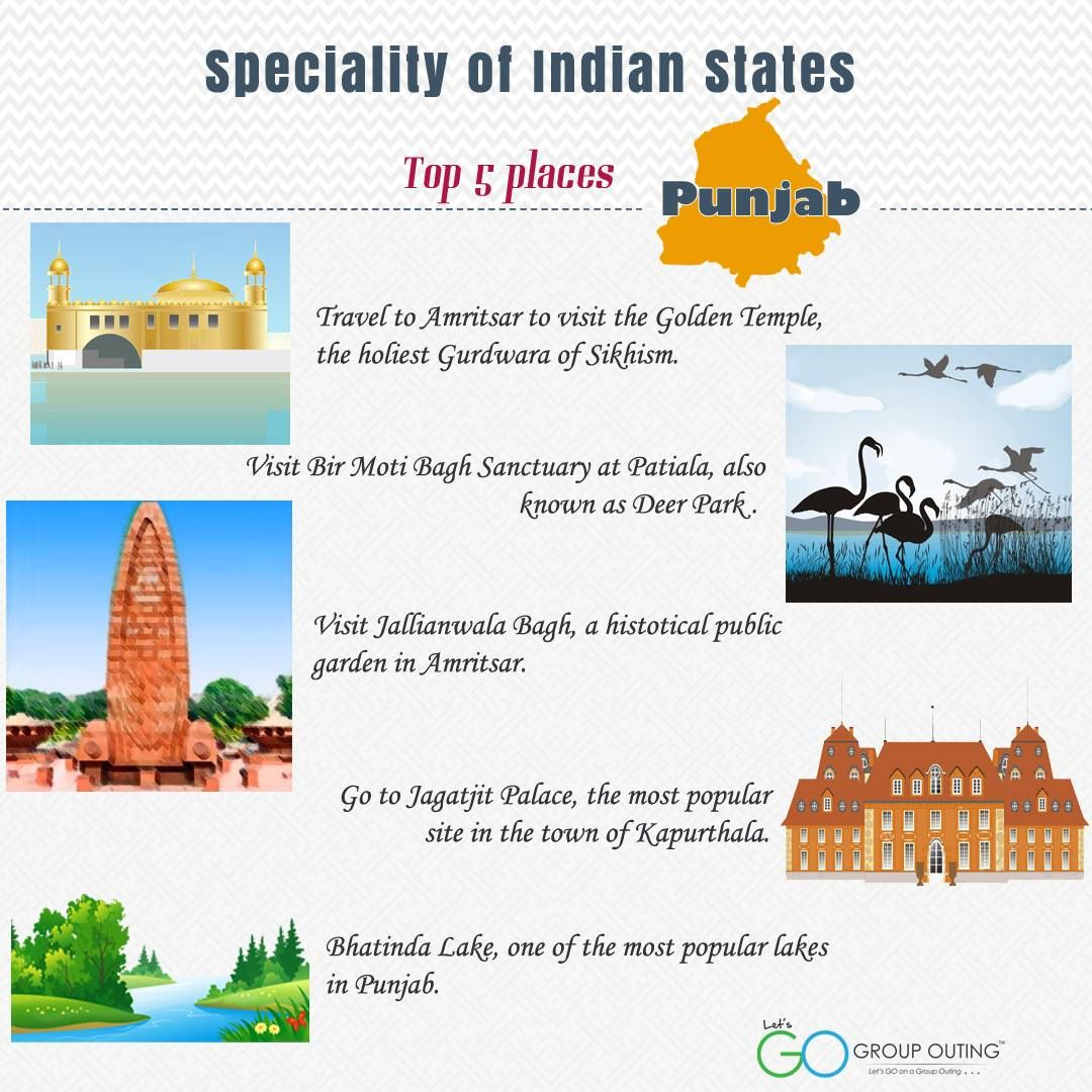 Top 5 ‪#‎destinations‬ you must visit while in ‪#‎Punjab‬ ‪#‎GroupOuting‬ ‪#‎GoGroupOuting‬