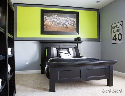 exciting teenage boy bedroom paint ideas | Pin on Kid's Room