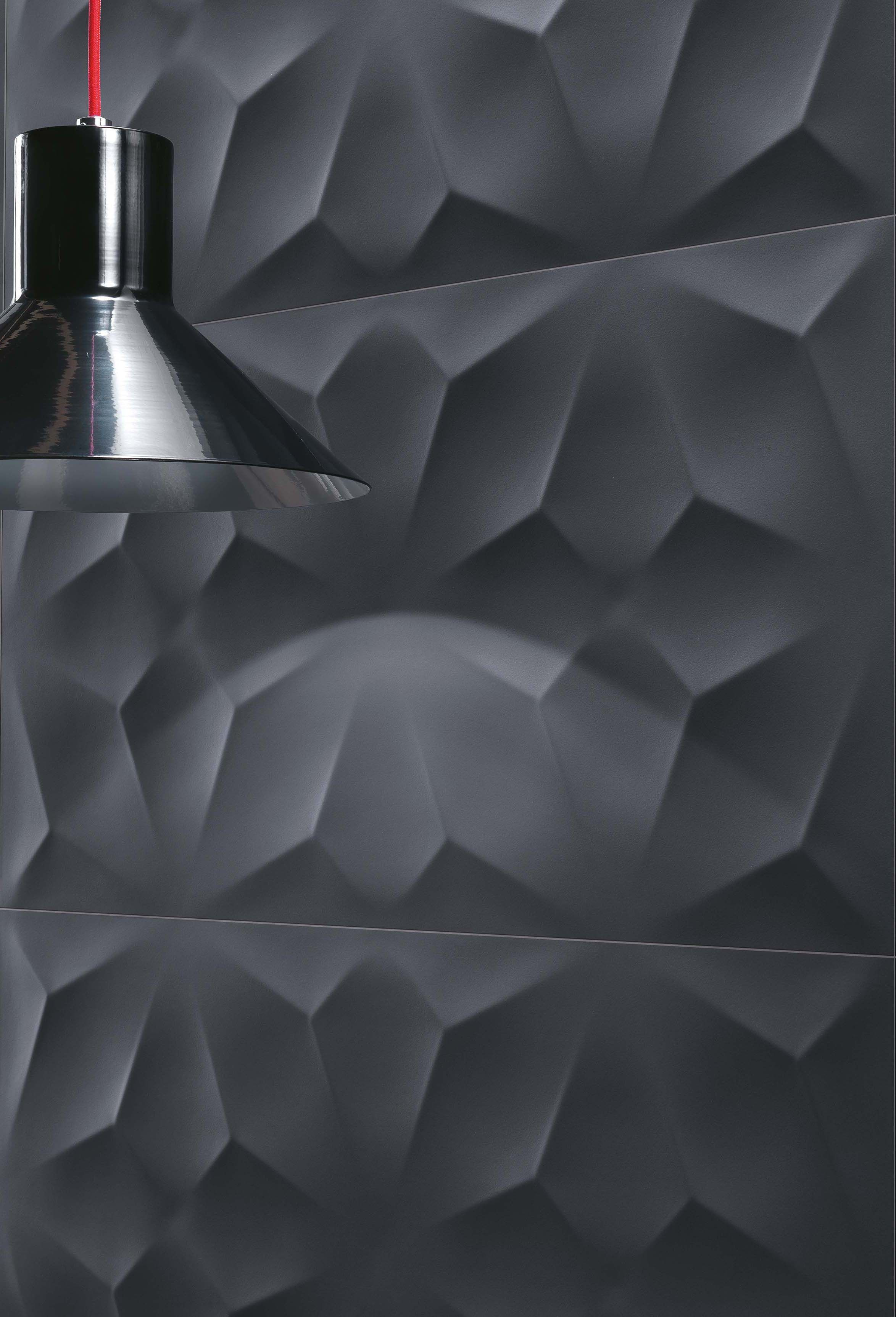 Polyhedral geometries for minimal and contemporary walls ceramic polyhedral geometries for minimal and contemporary walls ceramic wall tiles 3d wall design dailygadgetfo Image collections