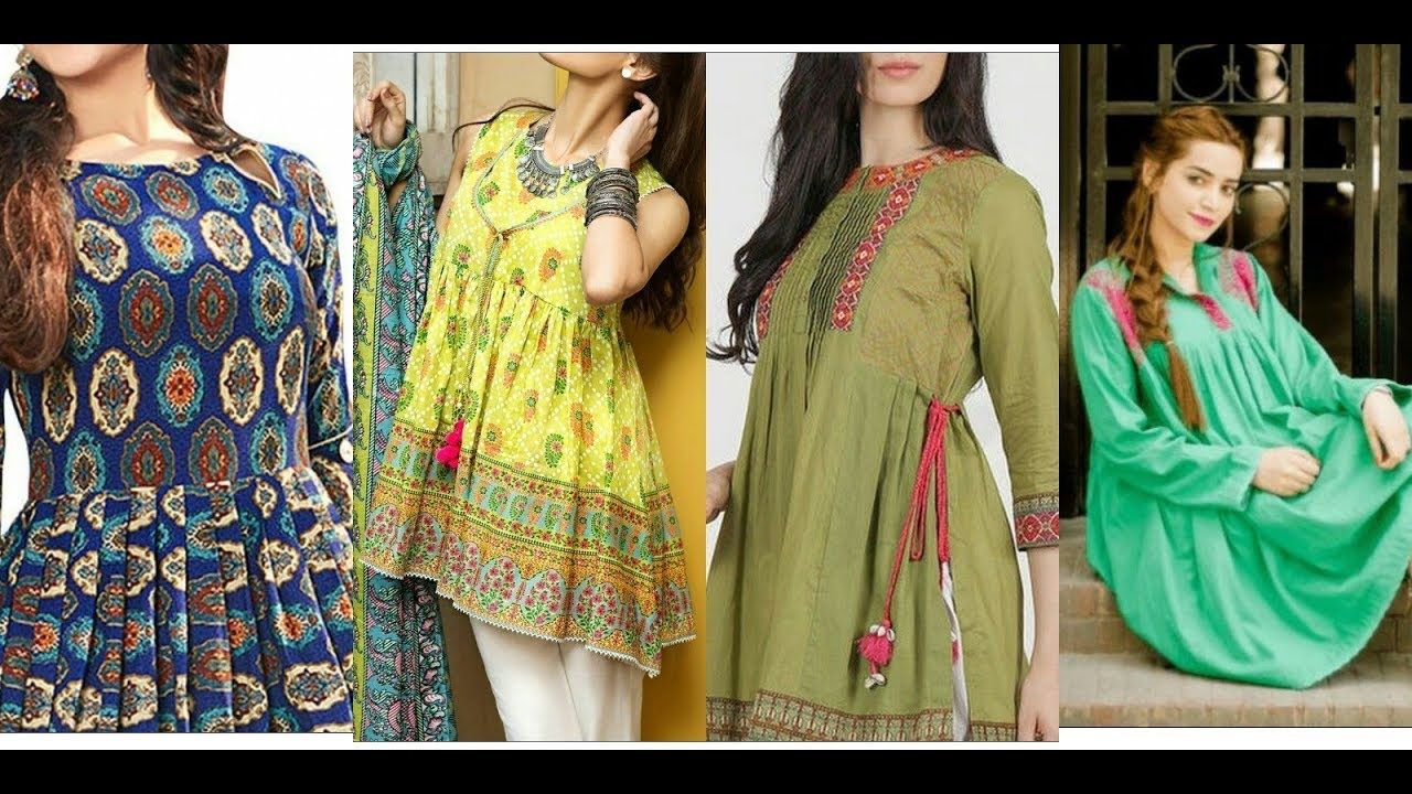 Best Latest Gorgeous And Stylish Casual Wear Kurti Designs 2019 400 x 300