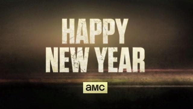 HAPPY NEW YEAR🌟 | The Walking Dead (AMC) | Happy new year ...