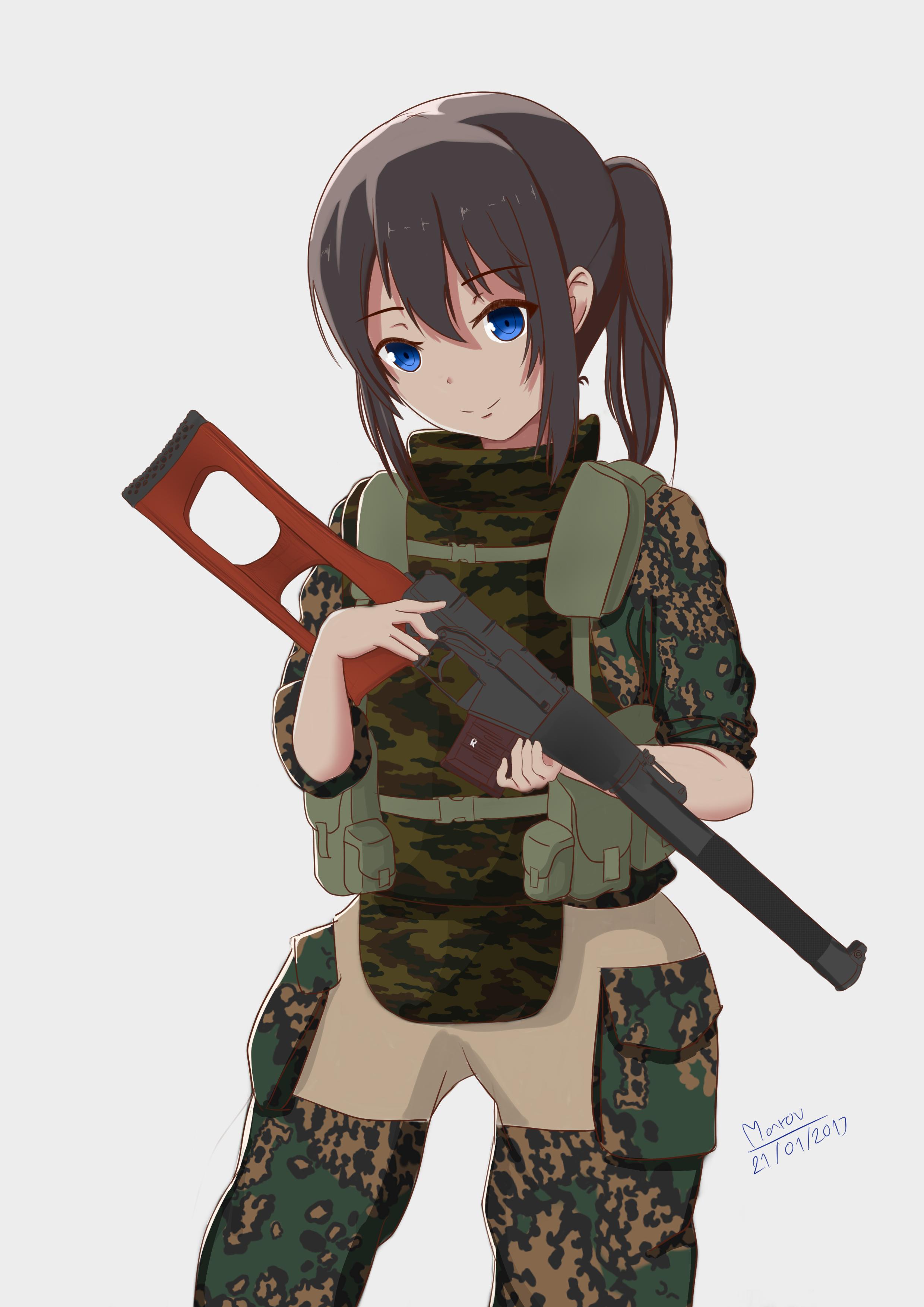 ヴィントレツ Anime Girls (Girls n Guns) Pinterest Anime