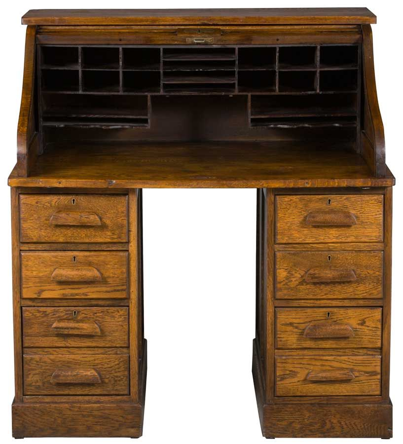 Antique Roll Top Desk - Antique Roll Top Desk Desks, Wooden Furniture And Construction