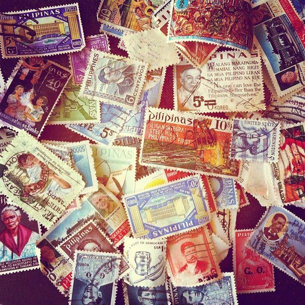 Some vintage stamp inspiration from Ladyfingers Letterpress