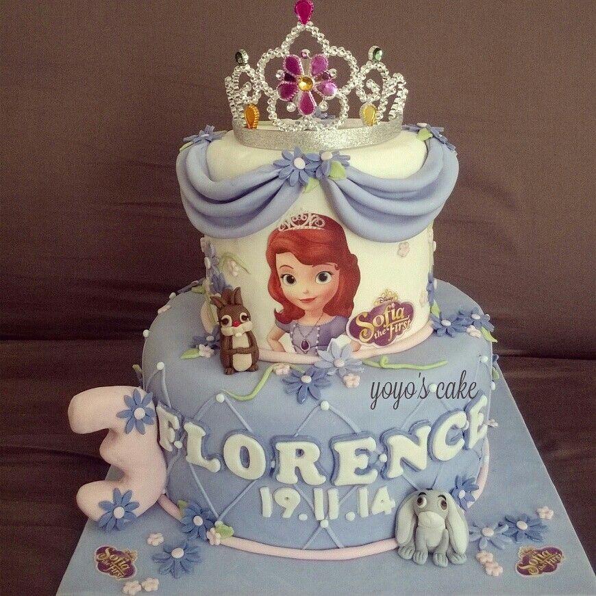 Princess Sofia birthday cake by Yoyos Cake Indonesia Beautiful