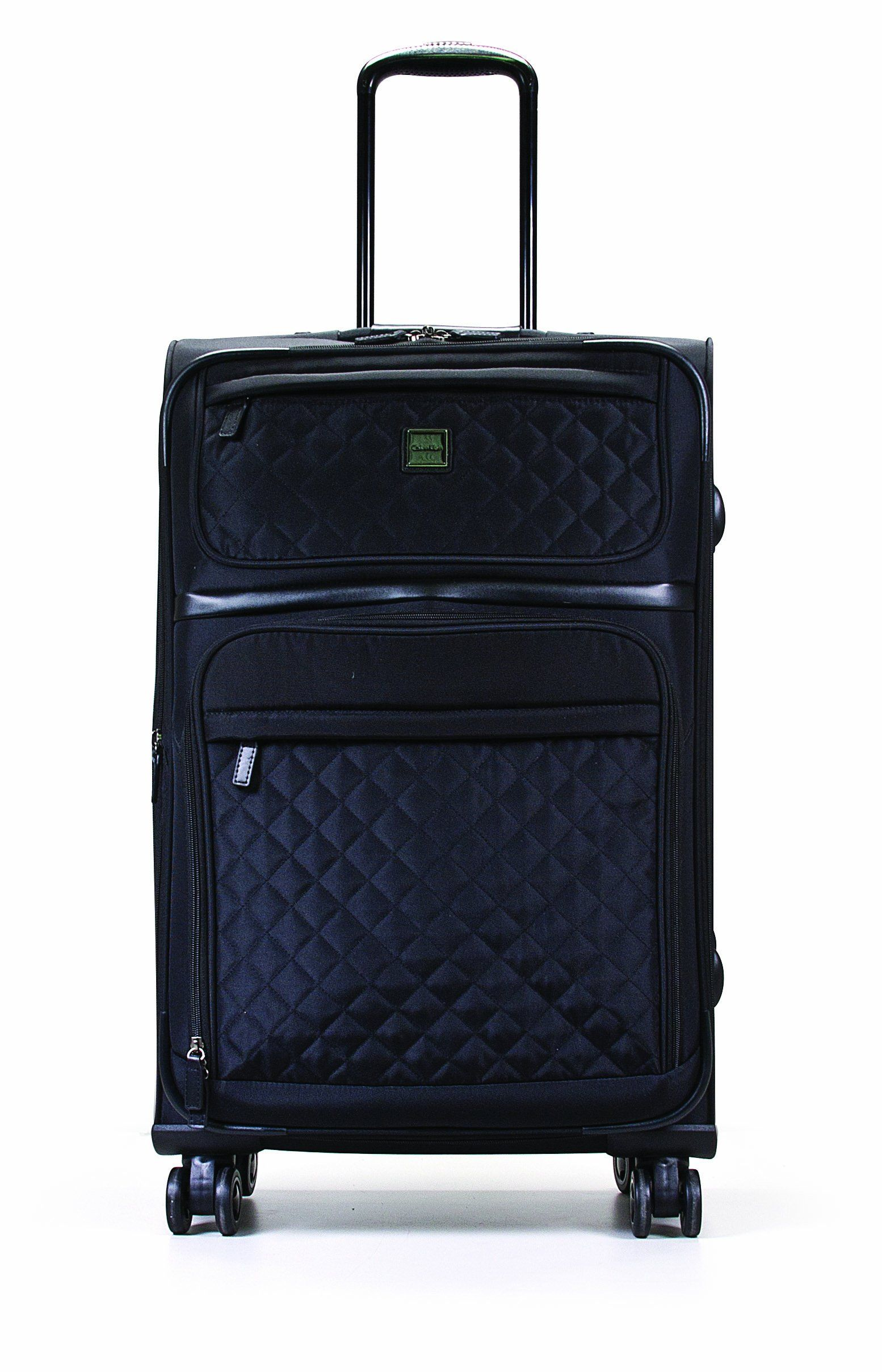 9bac4b9b4706 Calvin Klein Luggage Hawthorne Quilted 24-Inch Upright Spinner ...
