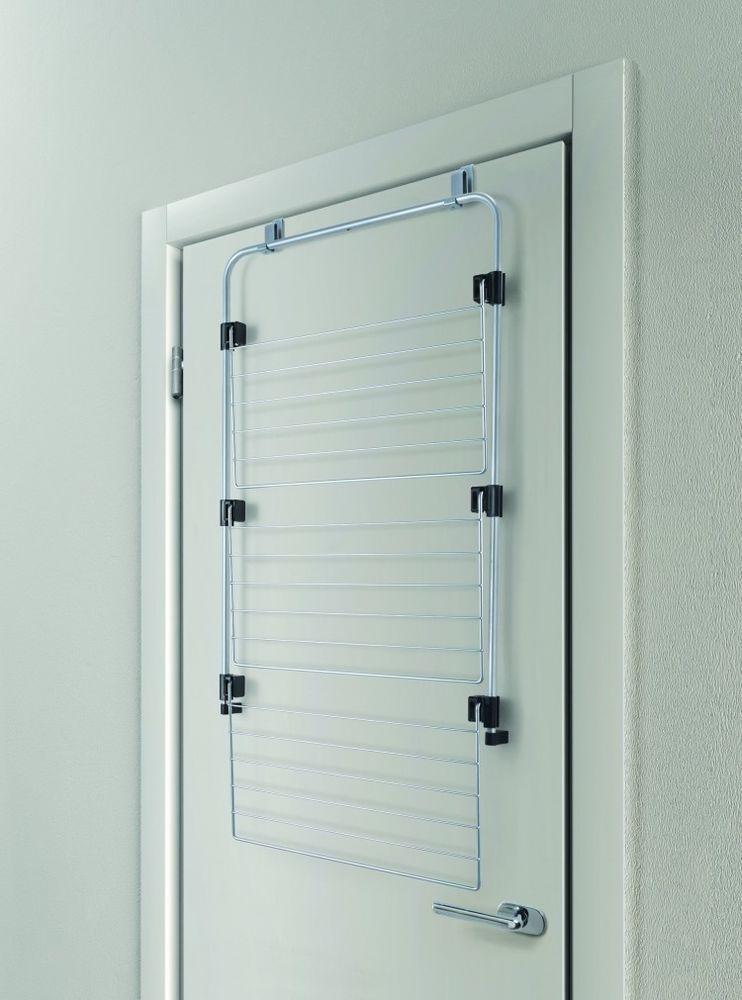 Over the Door Drying Rack Shower Space Saving Hanger Storage Clothes ...