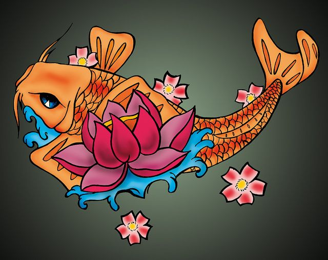Significado del pez koi buscar con google tattoo for Significado de pez koi