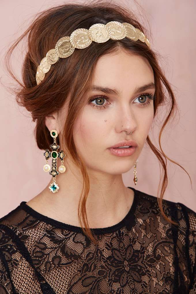 Cross Out Earrings Jewelry At Nasty Gal