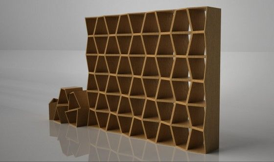 Honeycomb Shelf Unit | Karre Design