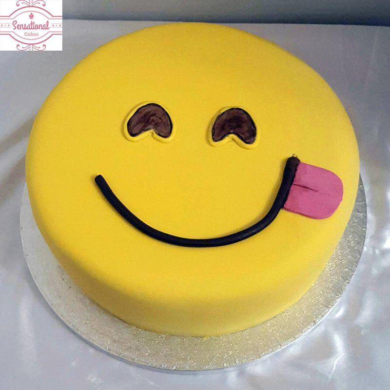 Emoji Birthday Cake Sensational Cakes Cakes Birthday