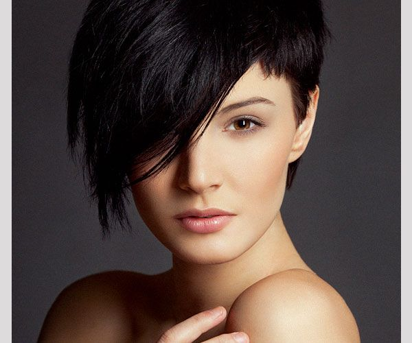 Haircut Female Short One Side Long The Other Google Search Hair