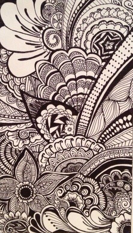 Iphone Wallpaper Art Drawings Zentangle Art