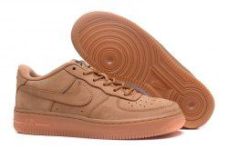hot sale online 7c977 9af9f Unisex Nike Air Force 1 Low GS Flax Wheat Flax Outdoor Green Gum Light  Brown 888853 200 Men s Women s Basketball Shoes