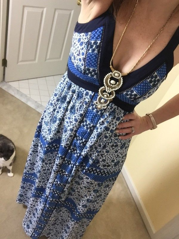 Trunk Club Maxi Dress