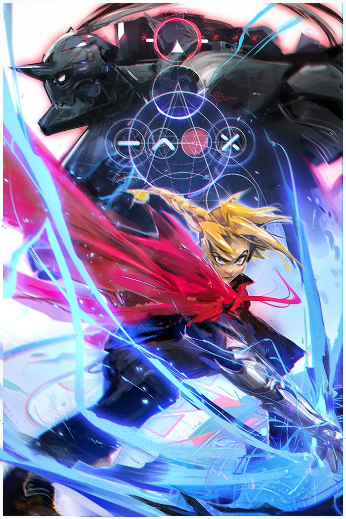 Fullmetal Alchemist!! YouTube by rossdraws.deviantart