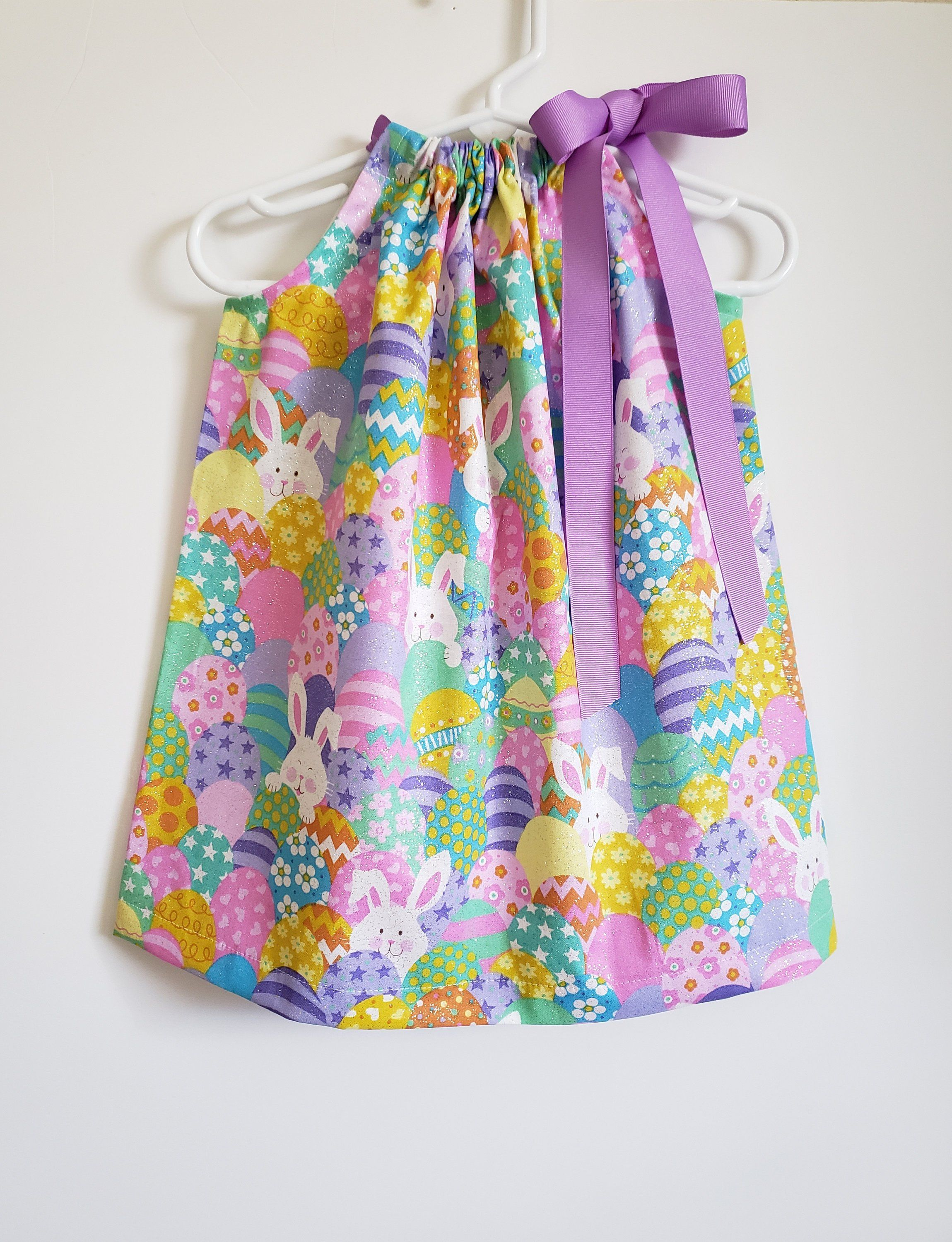 NEW Infant Girls Easter Bunny Pink Spring Butterfly Dress 2 pc Set 6m 9m