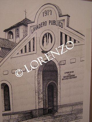Almansa Antiguo Lavadero Público Dibujo A Plumilla Sobre Papel Dibujo A Pluma Fotos De Paisajes Plumas