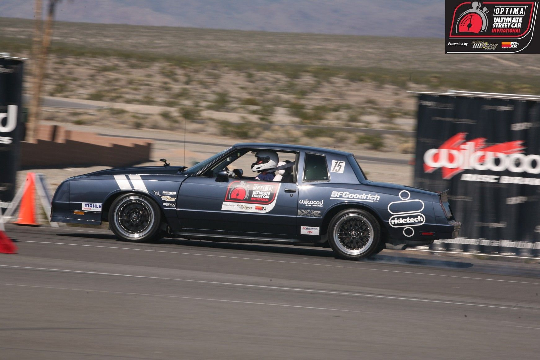 Dan Howe's 1984 Chevy Monte Carlo SS at the 2012 OPTIMA Ultimate Street Car Invitational. Learn more at www.OUSCI.com #OUSCI