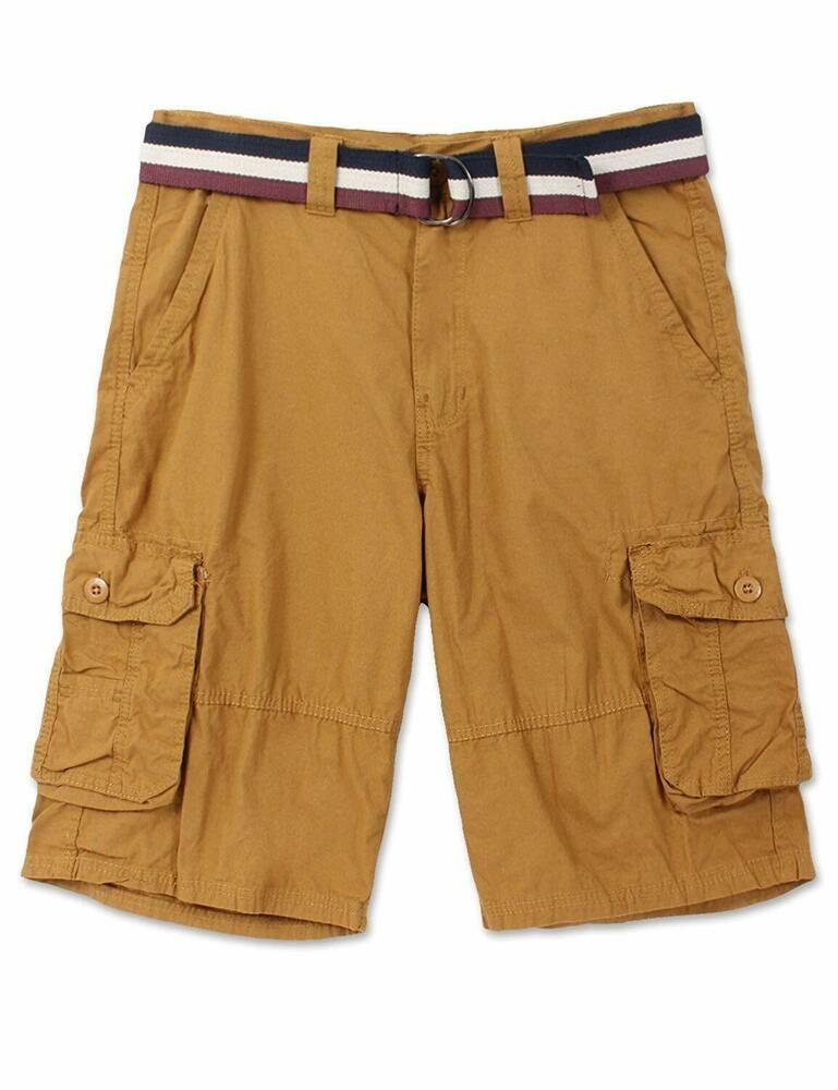 M/&S/&W Mens Summer Cargo Shorts Multi Pockets Work Outdoor Wear