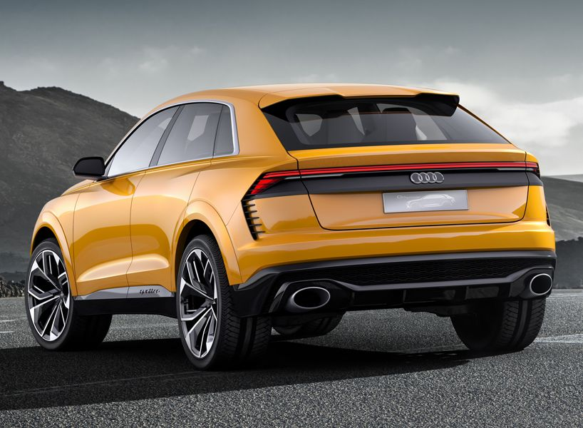 Audi Q8 Sport Concept Previews Luxury Suv With 1190 Km Range Audi Luxury Suv Audi Q4
