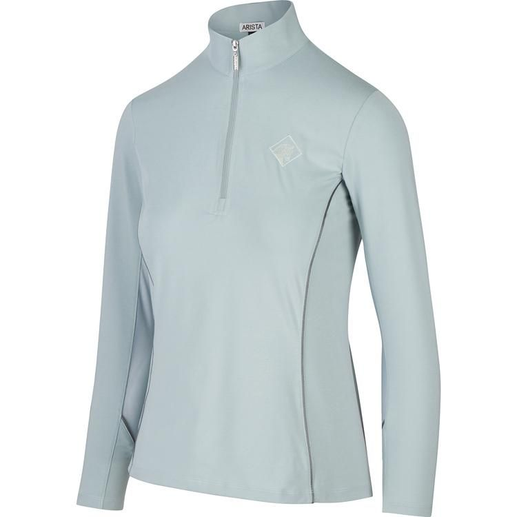acb2212a21d5 Arista Long Sleeve Quarter Zip in Sea-mist (3001) – Arista Equestrian