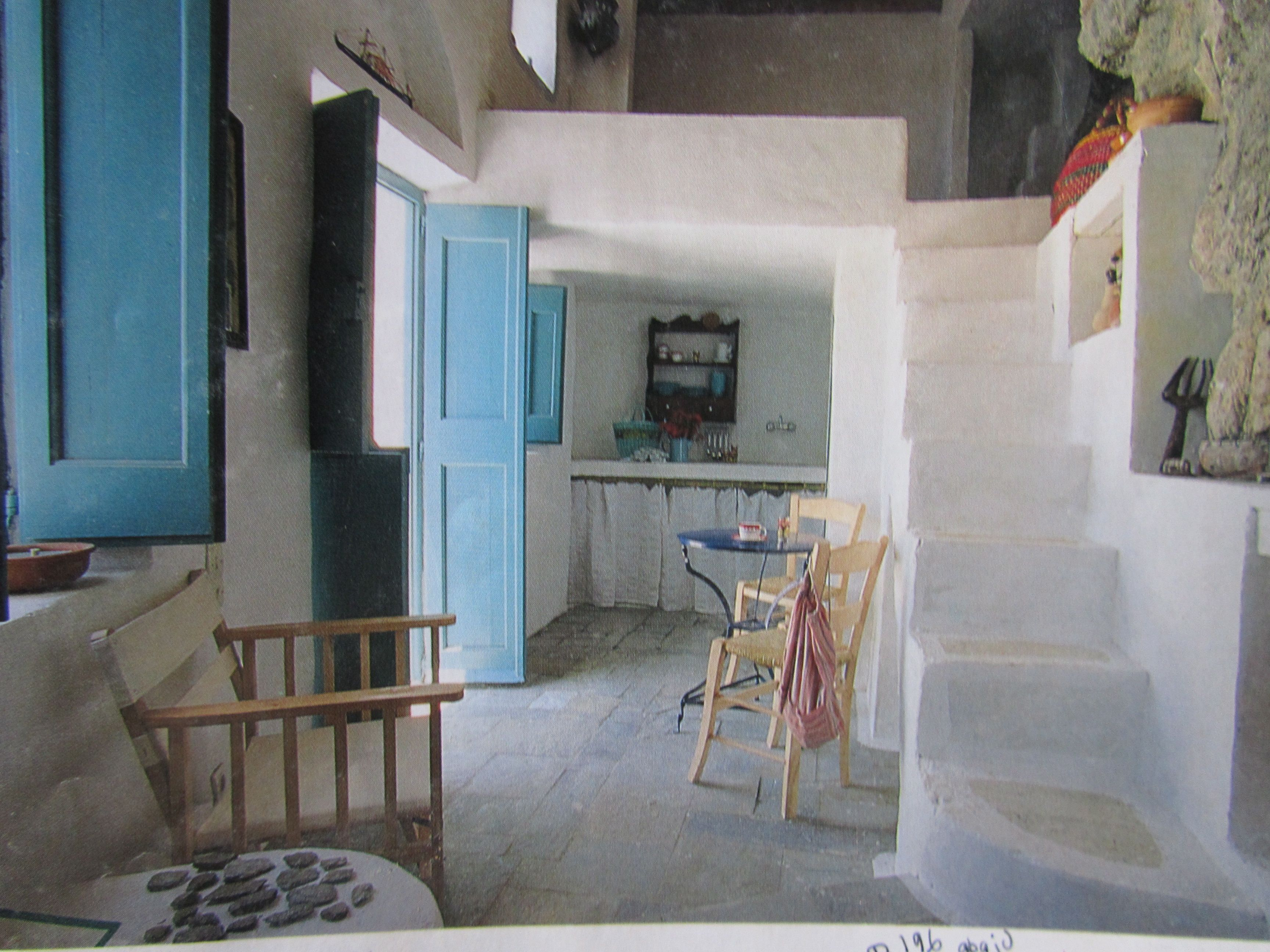 Greek Home - Stairs Dream Of Escape House