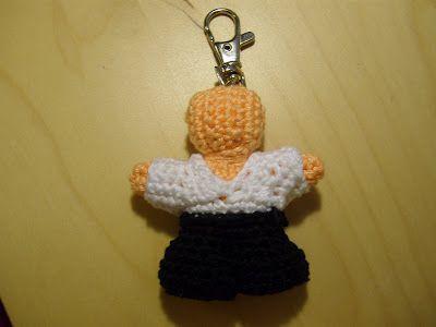 fletcher\'s crochet lab: Aikido Keychain | Crotchet & Knit ...