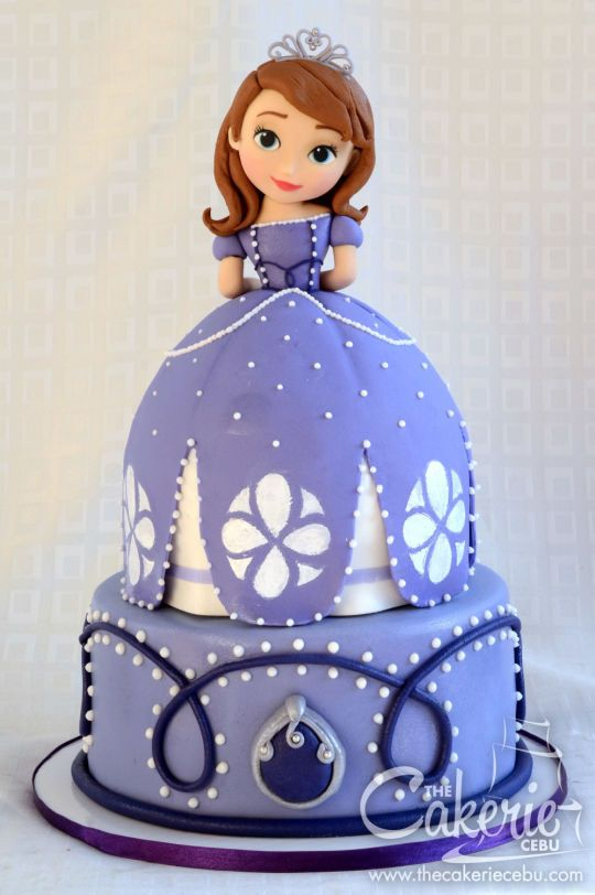 Prime Sofia The First Cake Sofia The First Cake Sofia Cake Sofia Funny Birthday Cards Online Overcheapnameinfo