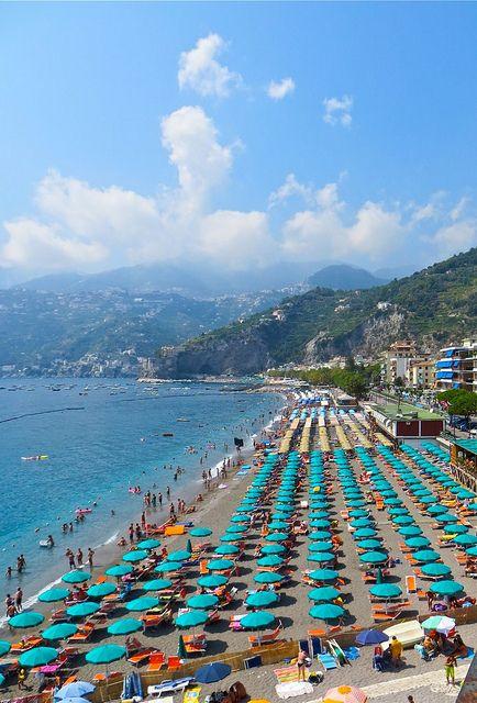 Maiori, Amalfi Coast, Salerno, Campania, Italy | Italien, See