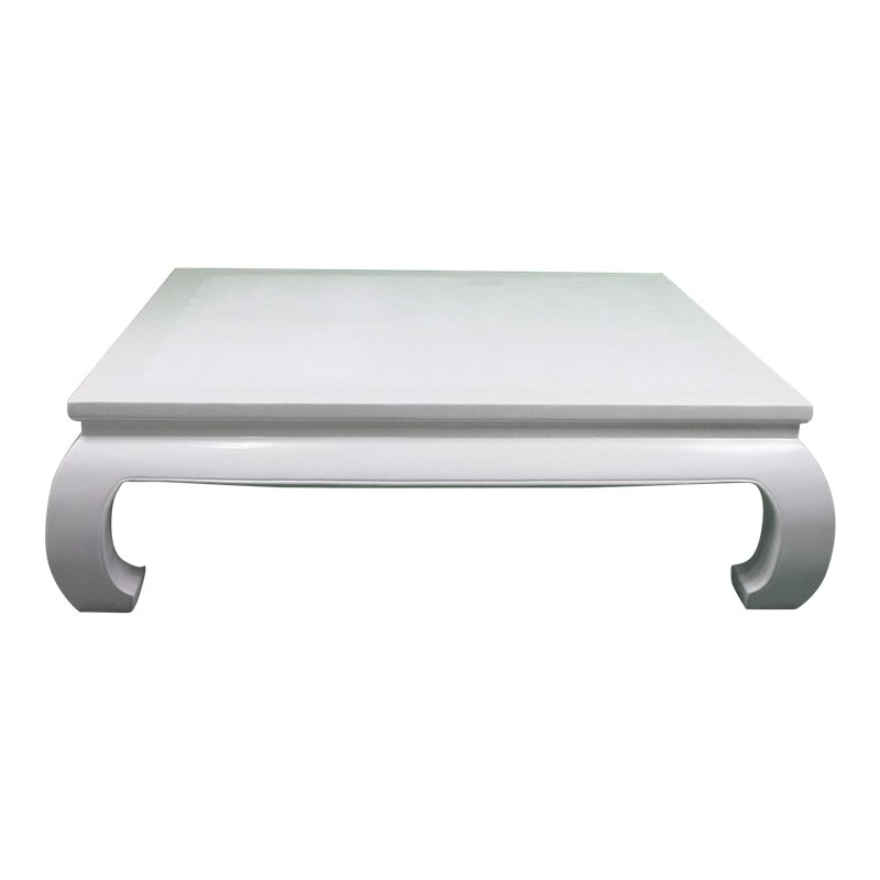 Ming Style White Lacquer Coffee Table Antique Coffee Tables