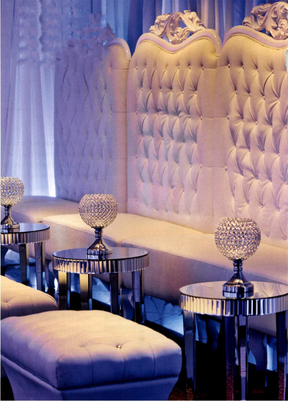 Wedding decoration ideas for bedroom  glam reception  Lounge decor  Pinterest  Reception Bride dresses