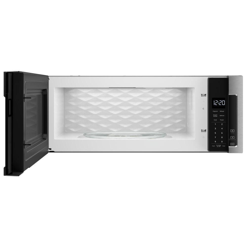 Whirlpool Low Profile Over The Range Microwave Oven Stainless