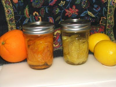 Make your Own Orange Extract and Lemon Extract