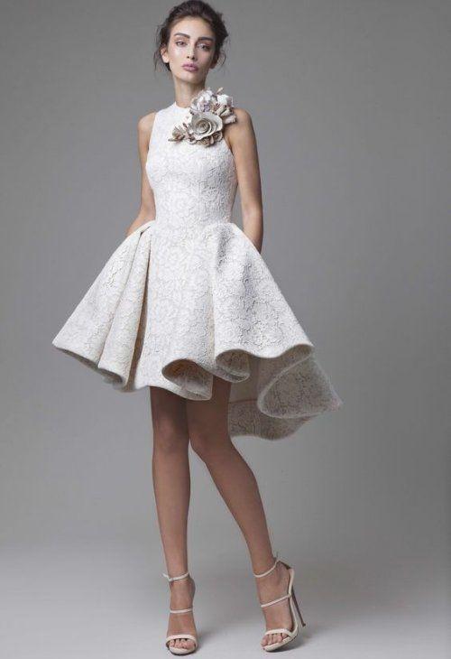 11 Unique Short Summer Wedding Dresses For The Original Bride