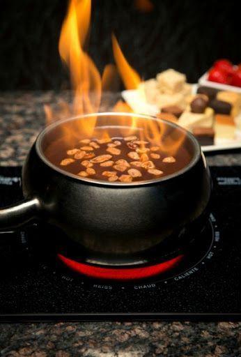 Flaming Turtle Chocolate Fondue (Melting Pot recipe) Recipe - (4.5/5) #chocolatefonduerecipes Flaming Turtle Chocolate Fondue (Melting Pot recipe) by Martha H - Key Ingredient #chocolatefonduerecipes