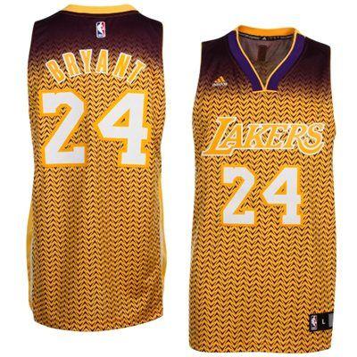 adidas Kobe Bryant Los Angeles Lakers 2013 Resonate Fashion Swingman Jersey 81957cd6f