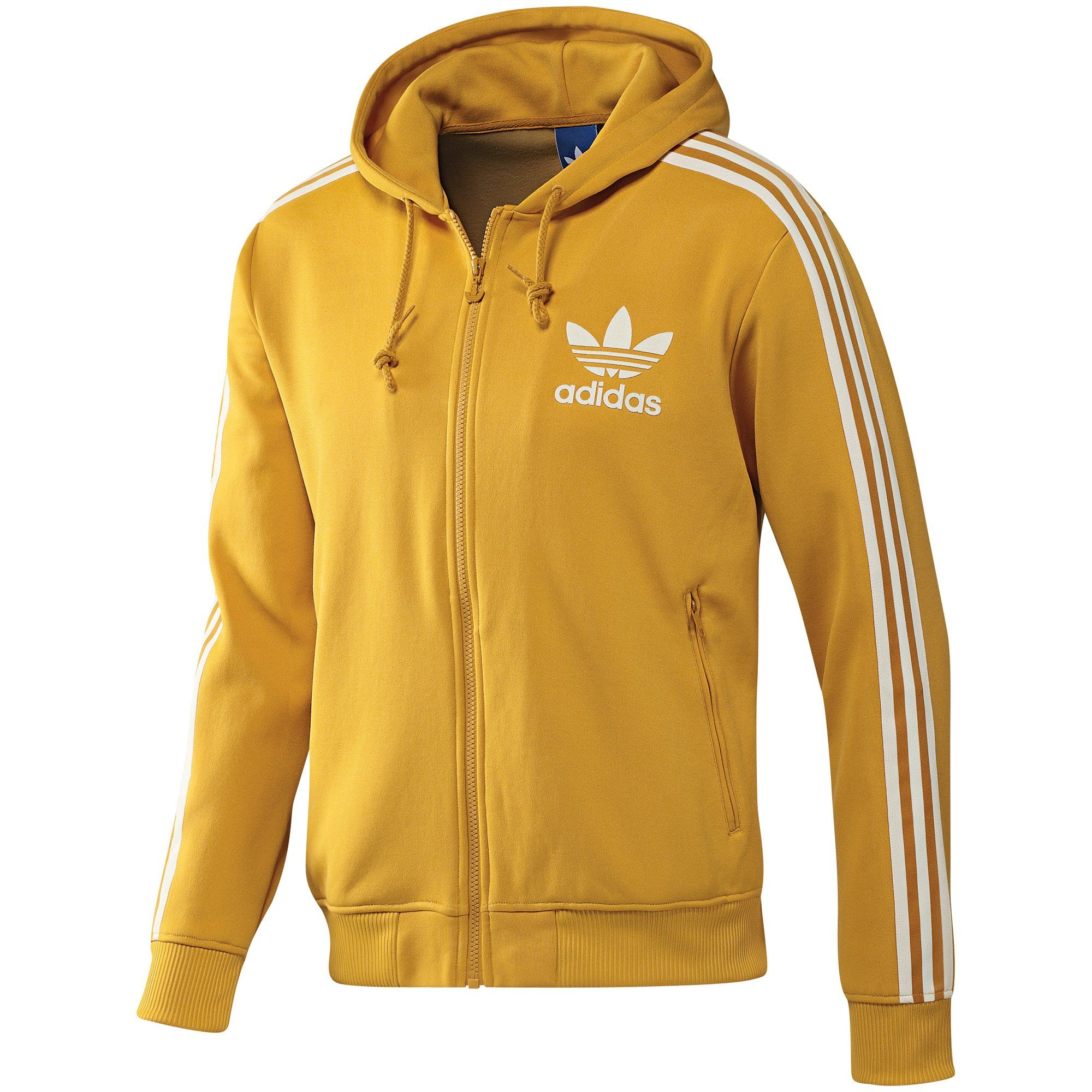Chaqueta Adidas Original Yellow  d3fba803dde12