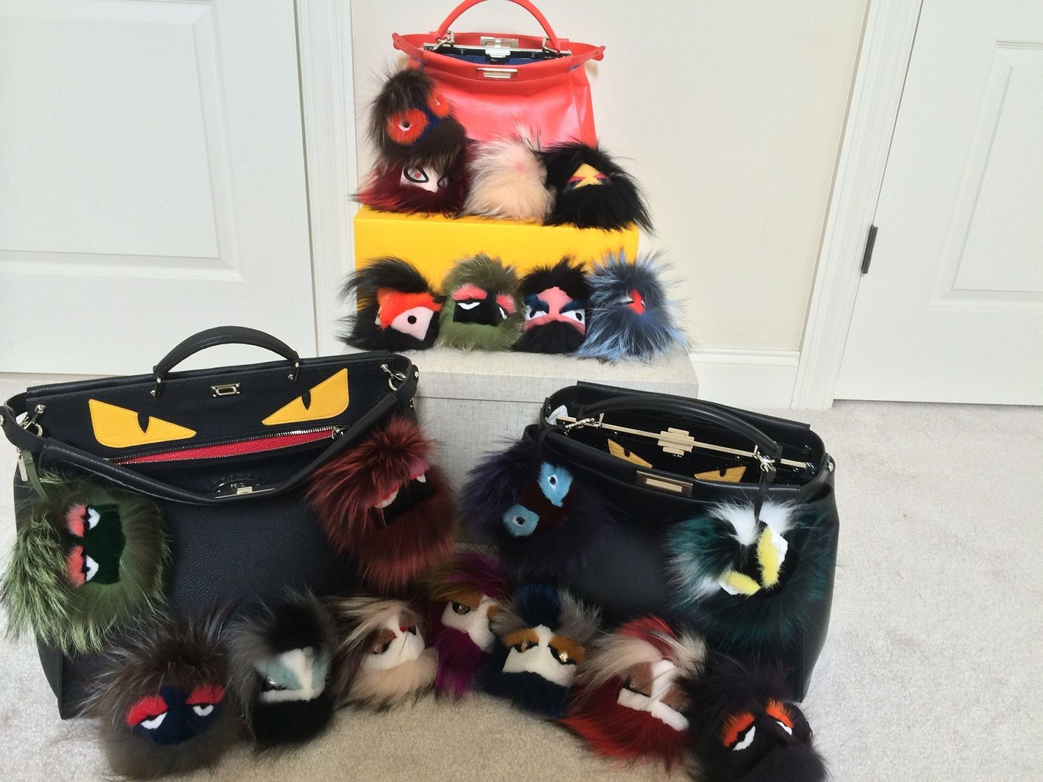 131f7474e15472 My Fendi MONSTER (bag bugs) obsession! - PurseForum | Bags. Scarfs ...