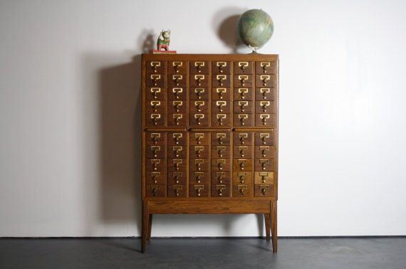 Looking To Buy A Vintage Library Card Catalog Craigslist