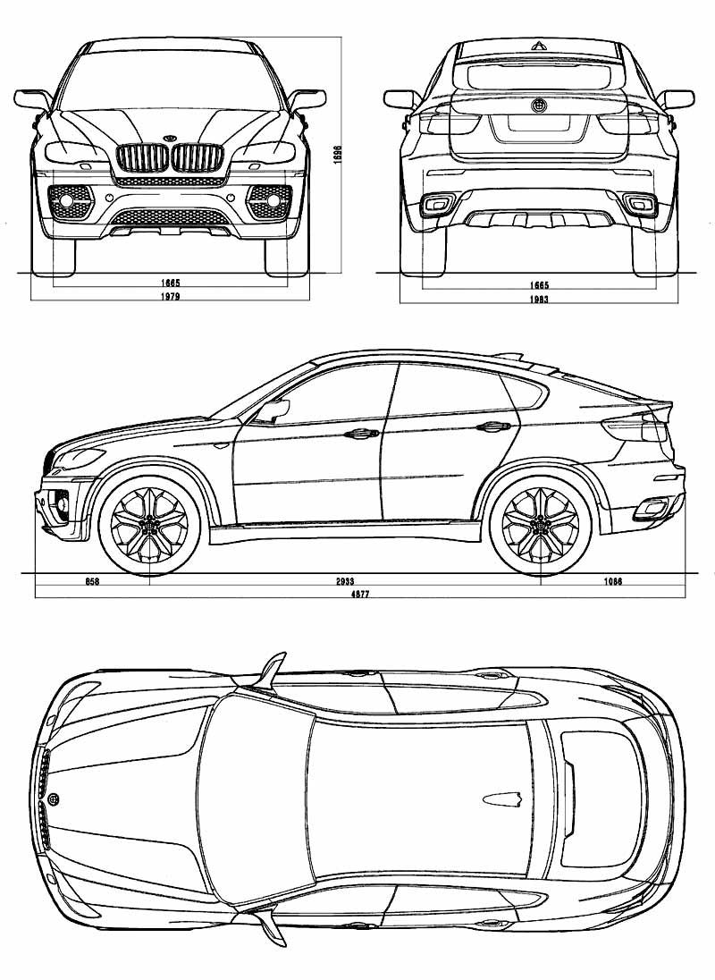 Bmw concept x6 car body design koeke en versierings bmw concept x6 car body design malvernweather