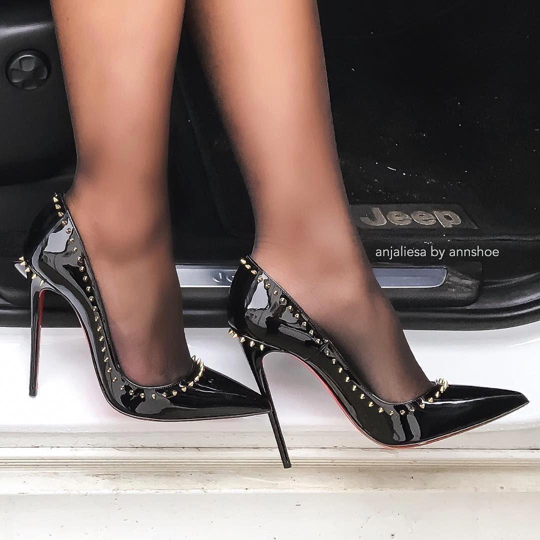 #Stilettoheels   Heels R Us   Heels, Black high heels ...