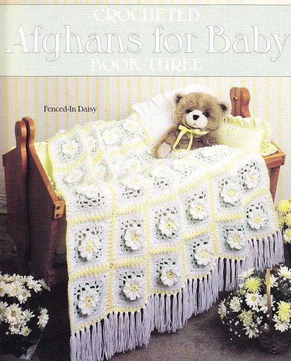 Baby Afghan Crochet Patterns - 9 Lovely Designs | Colchas, Manta y Bebé