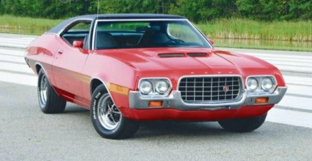 1972 Ford Gran Torino Ford Torino Muscle Cars Best American Cars