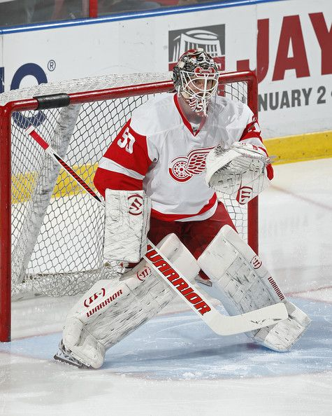 Jonas Gustavsson Photos Photos Detroit Red Wings V Florida Panthers Detroit Red Wings Red Wings Hockey Red Wings