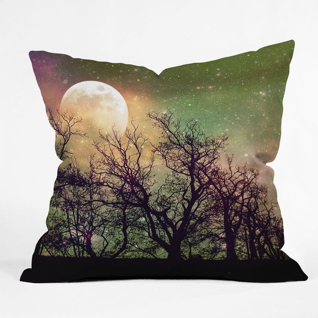 Pretty Fall/Halloween pillow  Shannon Clark Moon Magic Outdoor Throw Pillow | DENY Designs Home Accessories