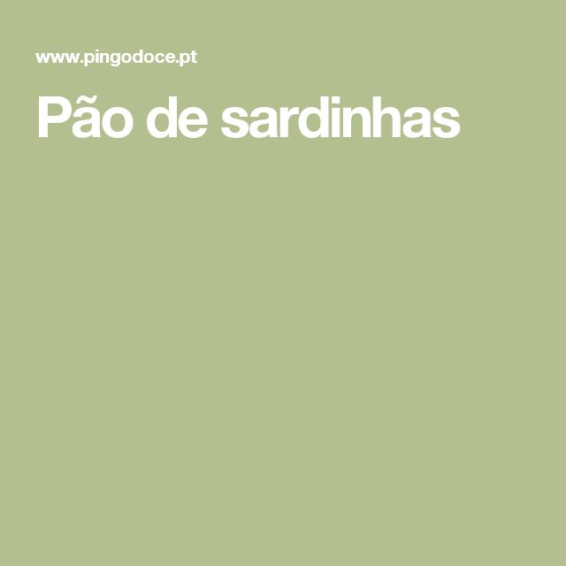 Pão de sardinhas