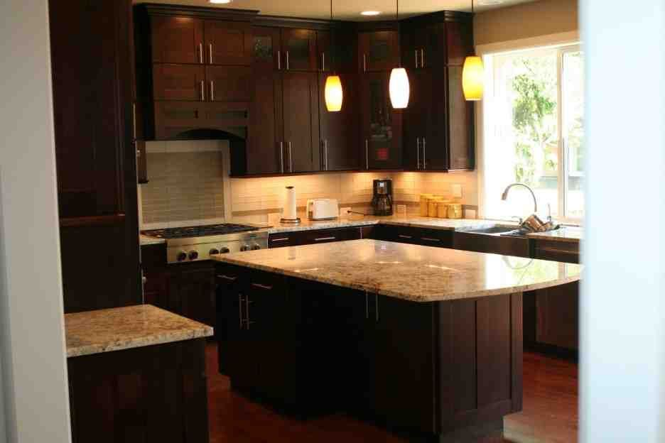 Cherry Shaker Kitchen Cabinets espresso kitchen cabinets | espresso cabinets | pinterest