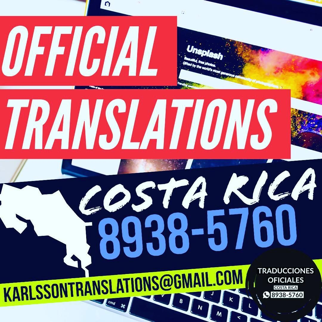 Authorized By The Costa Rican Ministry