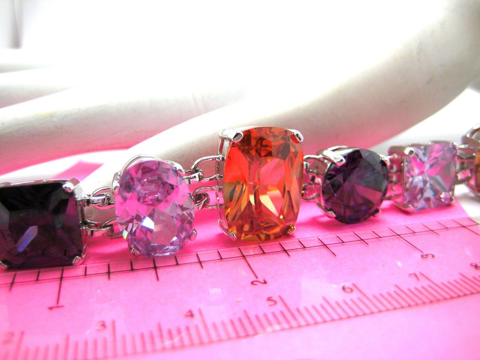 Mark Zunino Lincoln Road Stone Bracelet Chunky Crystals NIB CoA ...